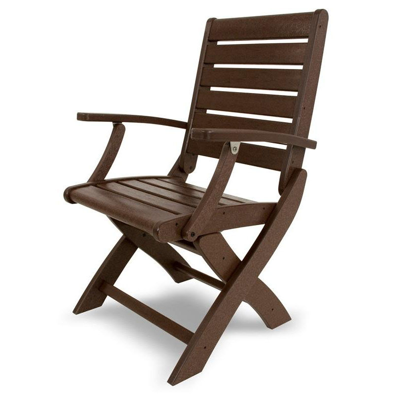 ... Our POLYWOODu0026reg; Signature Folding Chair   Mahogany Is On Sale ...