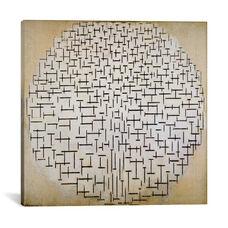 Pier & Ocean by Piet Mondrian Gallery Wrapped Canvas Artwork