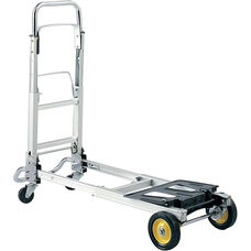 Hide-Away® Collapsible Convertible Hand and Platform Truck - Silver