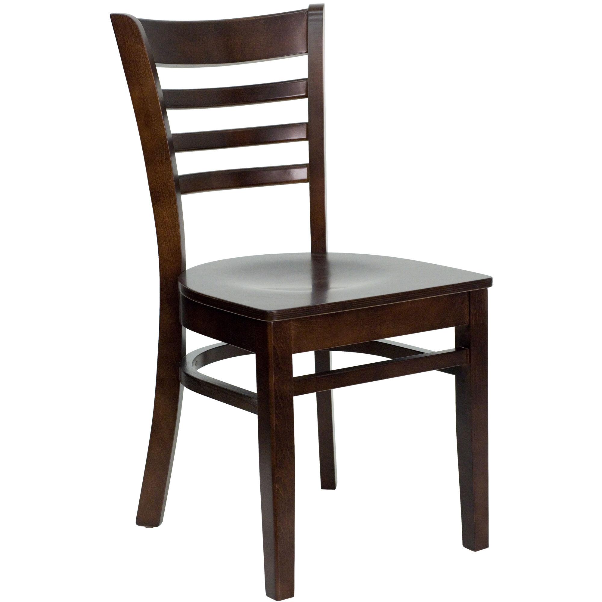 Walnut Wood Dining Chair Bfdh 8241ww Tdr