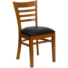 Ladder Back Wooden Restaurant Chair