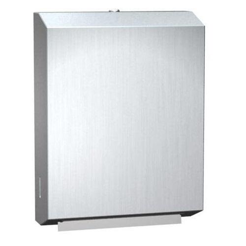 Traditional Medium Paper Towel Dispenser for C Fold or Multi Fold Towels