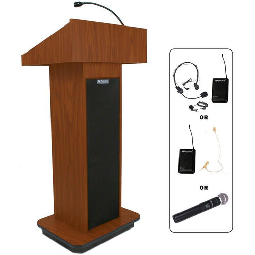 Our Wireless Executive 150 Watt Sound Column Lectern - 21
