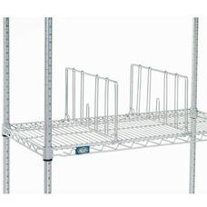 Single Chrome Shelf Divider - 18
