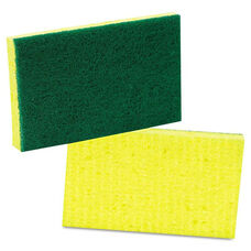 Scotch-Brite™ PROFESSIONAL Medium-Duty Scrubbing Sponge - 3 1/2 x 6 1/4 - 10/Pack