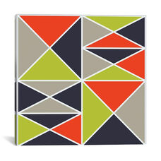 Structure III - Warm by Greg Mably Gallery Wrapped Canvas Artwork