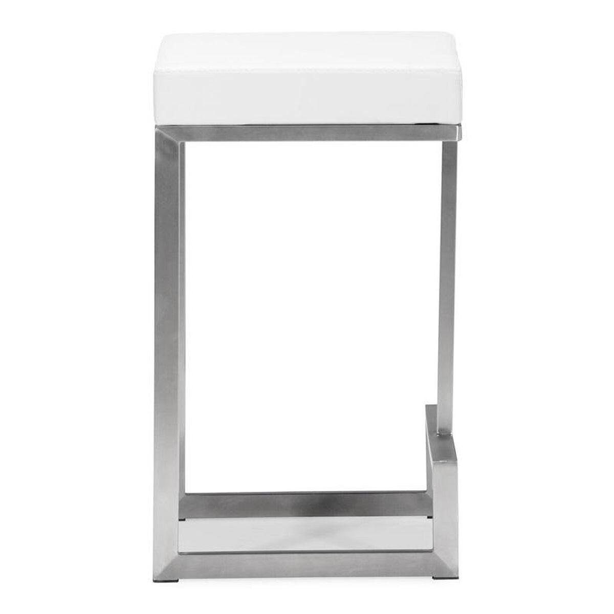 Darwen White Counter Stool 300049