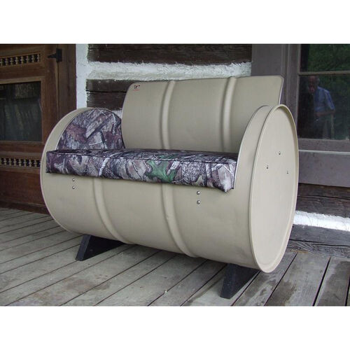 HTC Steel Drum Armchair with True Timber® Camo
