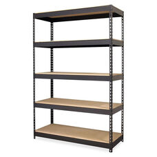 Lorell Riveted Steel Shelving - 48