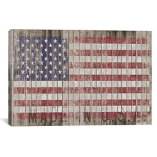 American Flag I by Diego Tirigall Gallery Wrapped Canvas Artwork