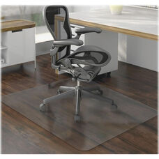 Lorell Chairmat - Hard Floor - Rectangular Lip - 46