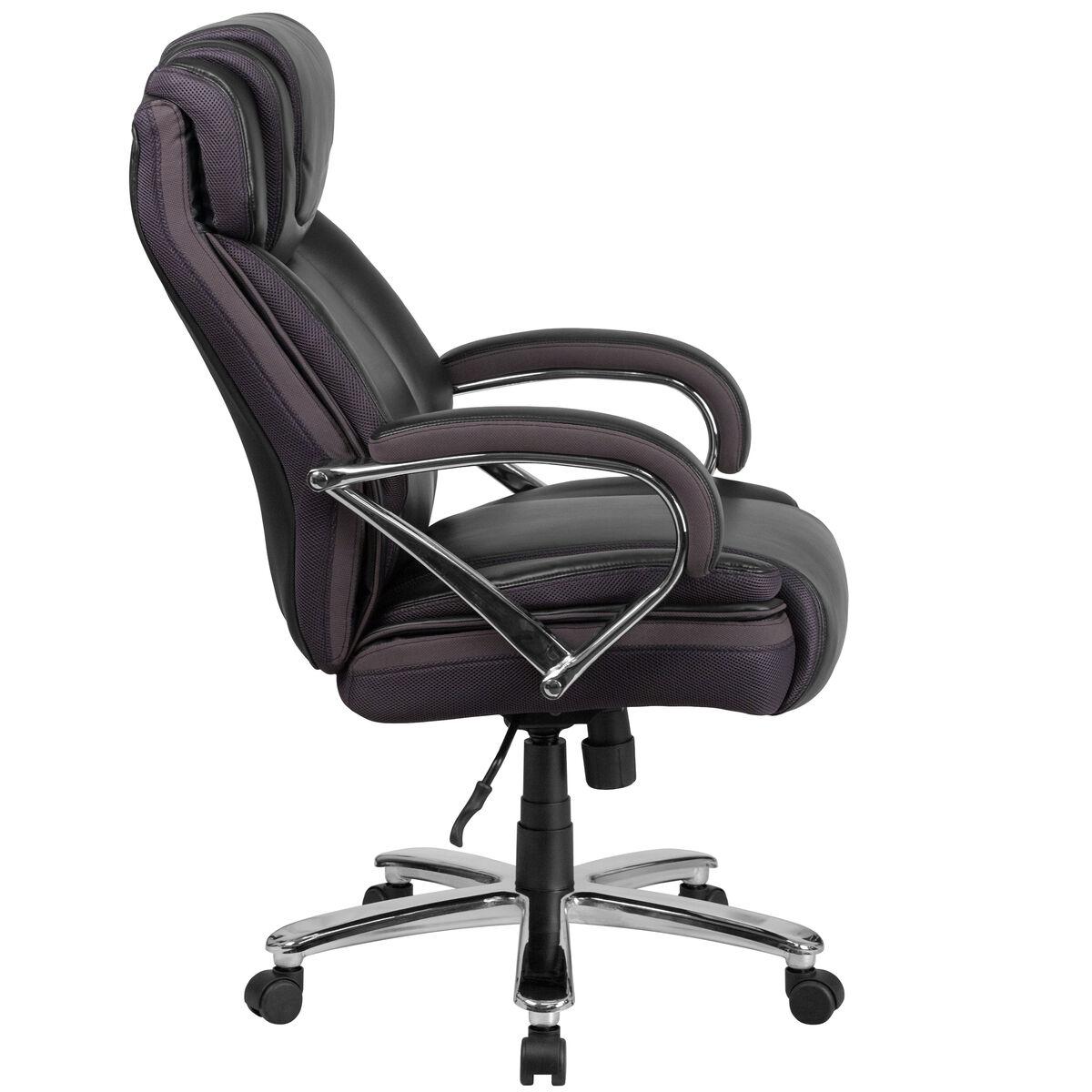 Black 500lb High Back Chair Go 2092m 1 Bk Gg