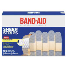 Johnson & Johnson Band-Aid Sheer Adhesive Bandages