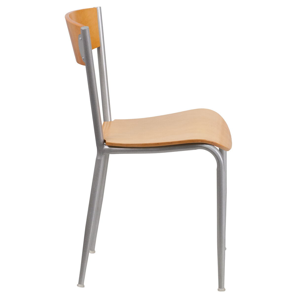 Silver Open Chair Nat Seat Bfdh 90717 Nat Tdr