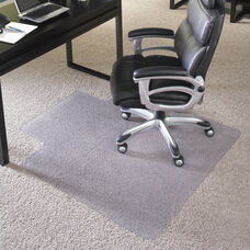 36'' x 48'' Big & Tall 400 lb. Capacity Carpet Chair Mat with Lip