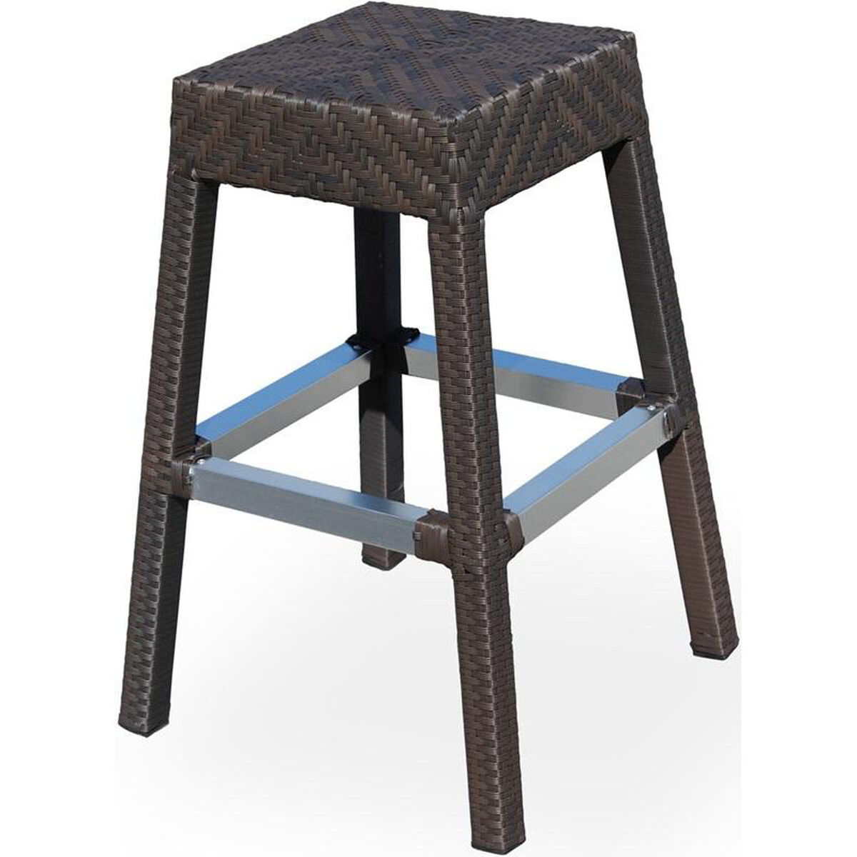 Source Contract Miami Duraweave Stackable Backless Bar