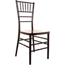 Advantage Mahogany Resin Chiavari Chair