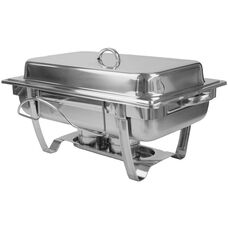 8 Quart Stackable Stainless Steel Chafer