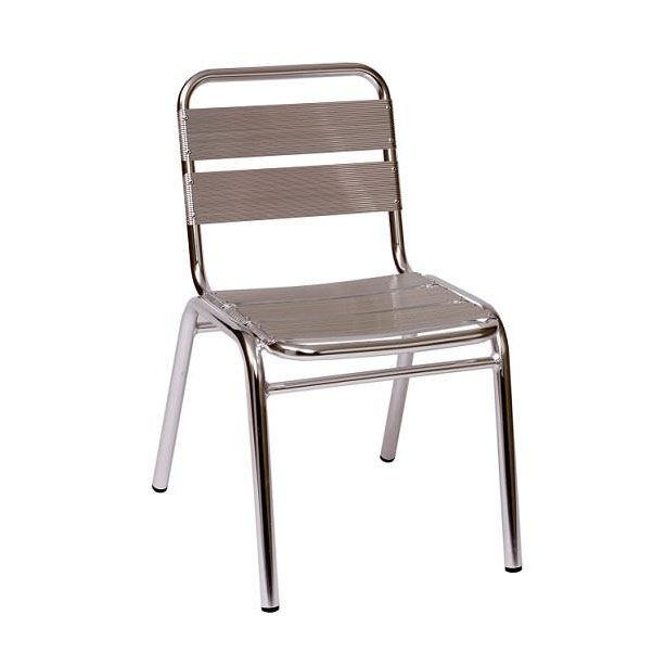 Parma Outdoor Stacking Aluminum Side Chair  sc 1 st  RestaurantFurniture4Less & Parma Stacking Side Chair MS0025 | RestaurantFurniture4Less.com