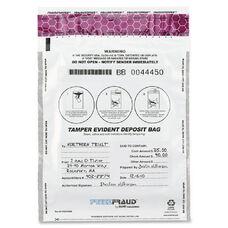 Mmf Industries White Freezfraud Deposit Bags - Pack Of 100