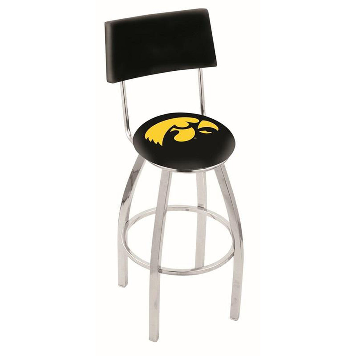 Collegiate Football Swivel Stool L8c425iowaun