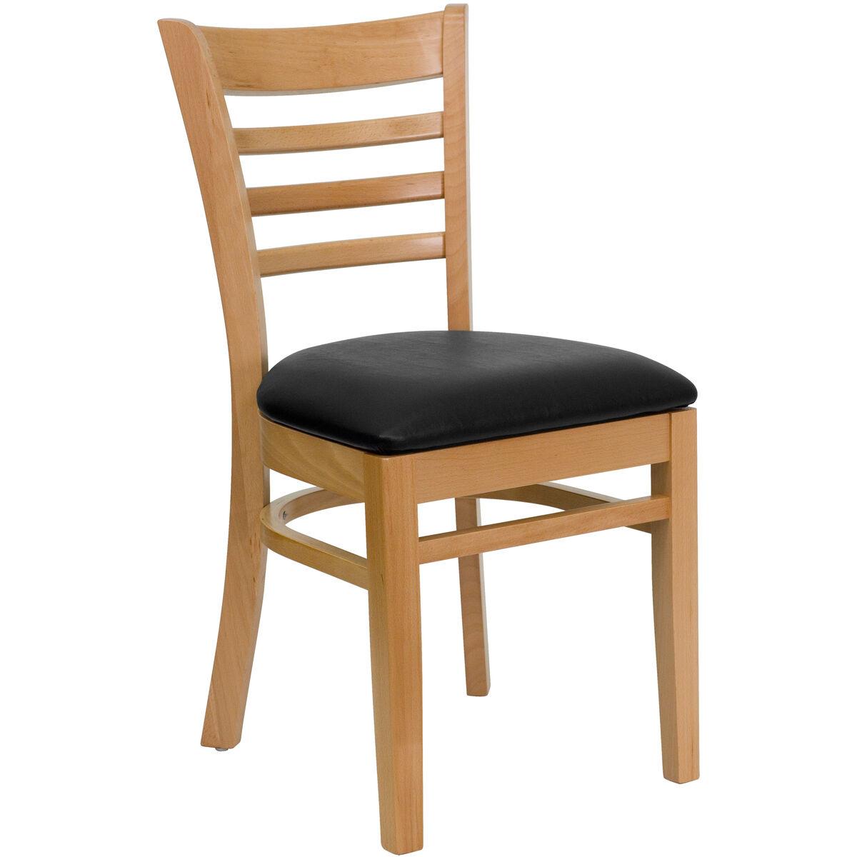 Restaurant Furniture 4 Less : T d restaurant equipment natural wood finished ladder