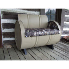 DRT Steel Drum Armchair with True Timber® Camo