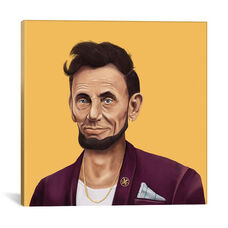 Abraham Lincoln by Amit Shimoni Gallery Wrapped Canvas Artwork