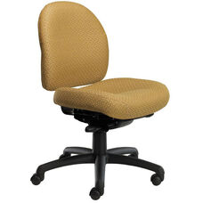 Pearl II 300 Series Small Back Swivel and Seat Height Task Chair