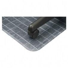 Deflecto Duramat Checkered Standard Chairmat with Lip