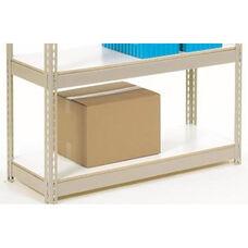 Additional White Melamine Laminate Deck For Rivet Lock Shelving - 36