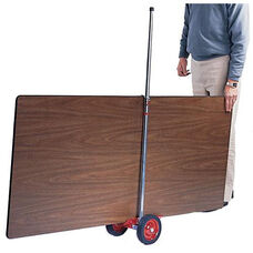 Table or Sheet Wheeler with Retaining Clip - 13''W x 12''D