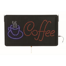 High Visibility LED COFFEE Sign - 13
