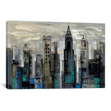 New York Moment by Silvia Vassileva Gallery Wrapped Canvas Artwork