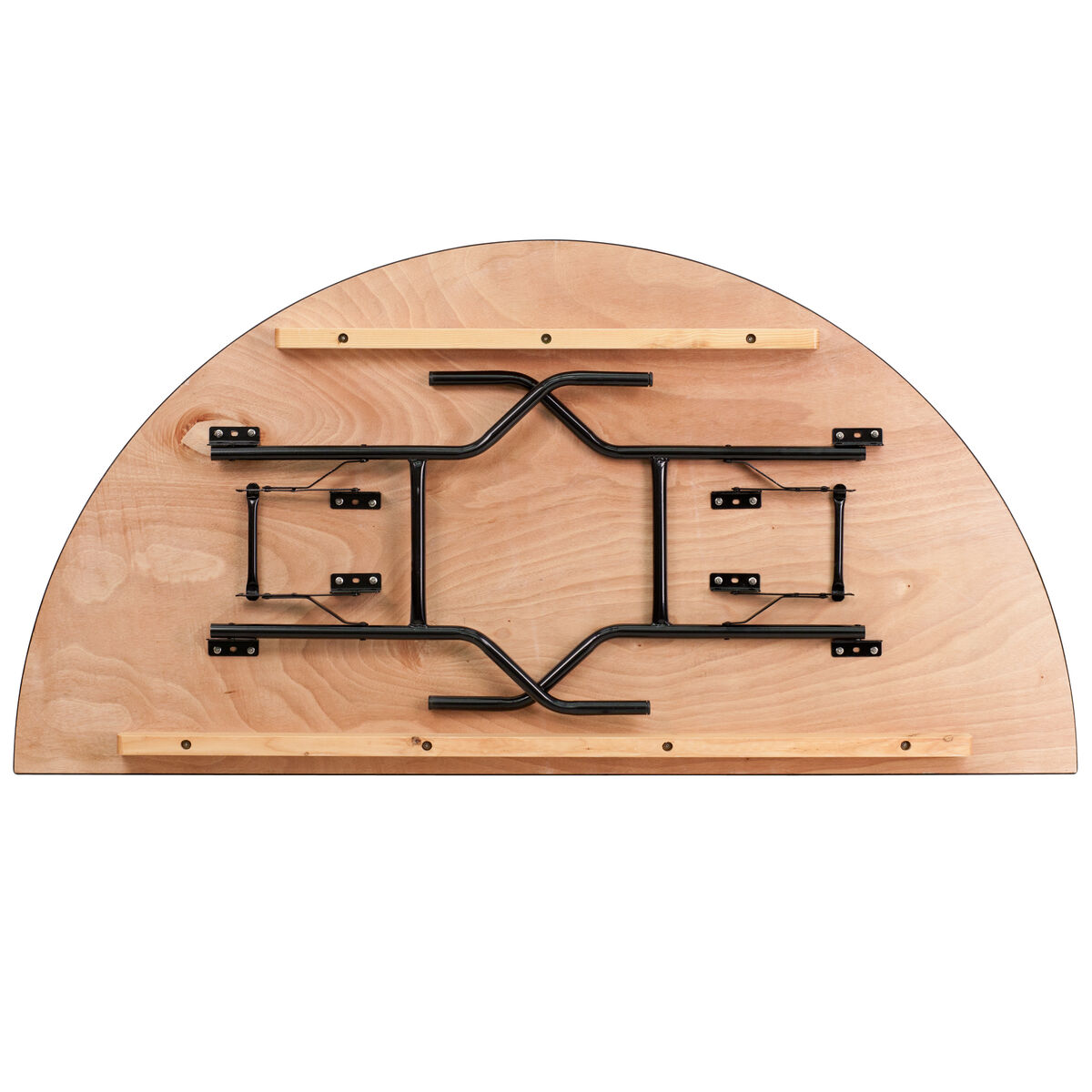 Our 72 Half Round Wood Folding Banquet Table Is On Now