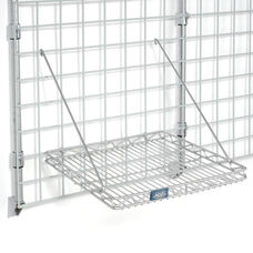 Chrome Grid Shelf - 16 3/4