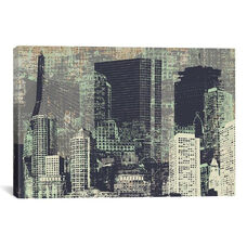 Beantown by Kyle Mosher Gallery Wrapped Canvas Artwork