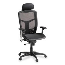 Lorell High Back Chair - Mesh - 28 -1/2