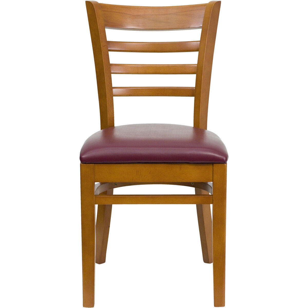 Cherry Wood Chair Burg Vinyl Bfdh 8241cby Tdr
