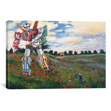 Voltron Dans Les Colquelicots by Hillary White Gallery Wrapped Canvas Artwork - 40