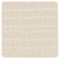 Frameless Burlap Weave Vinyl Display Panel with Radius Corners - Cement - 48
