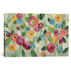 Fairy Tale Flowers V by Silvia Vassileva Gallery Wrapped Canvas Artwork