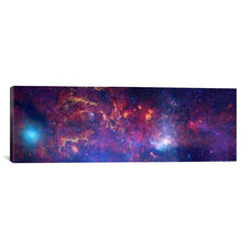 Center of the Milky Way Galaxy (Chandra/Hubble/Spitzer) by NASA Gallery Wrapped Canvas Artwork