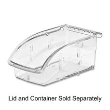 Akro-Mils Insight Ultra Clear Supply Bin - 7.4