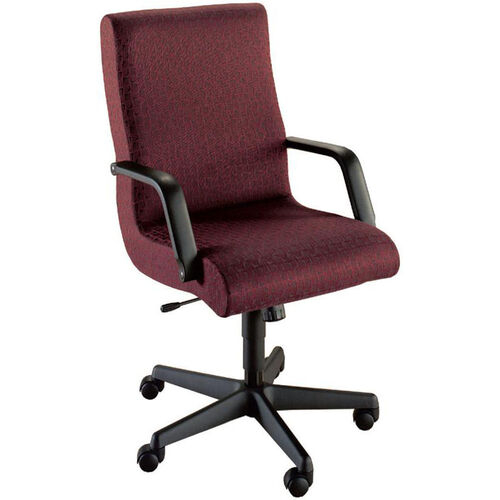 Our Quick Ship Scoop Executive Swivel Chair with Black Urethane Arms is on sale now.
