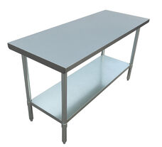 "Adcraft WT-3060-E 30""x60"" Stainless Steel Work Table"
