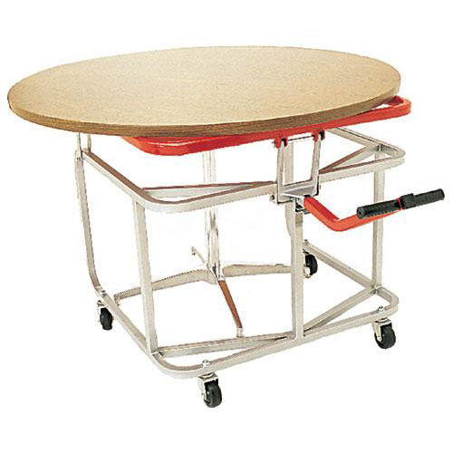 Our Steel Frame Table Tote with Bonded Vinyl Finish - 32