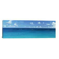 View Of The Atlantic Ocean, Bermuda by Panoramic Images Gallery Wrapped Canvas Artwork
