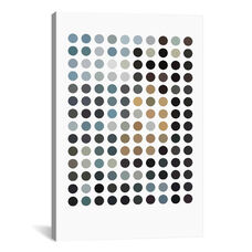 Modern Art - Earthy Dots by 5by5collective Gallery Wrapped Canvas Artwork
