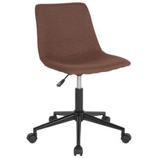 Siena Home and Office Task Chair in Brown Fabric